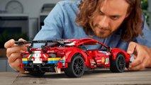 "Lego Technic Ferrari 488 GTE ""AF Corse #51"""