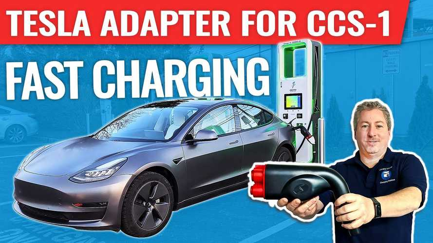 CCS1 To Tesla Adapter Finally Available For North American Market
