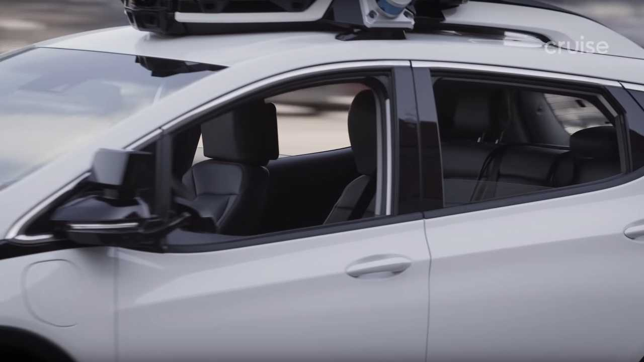 Cruise Automation autonomous Chevrolet Bolt EV