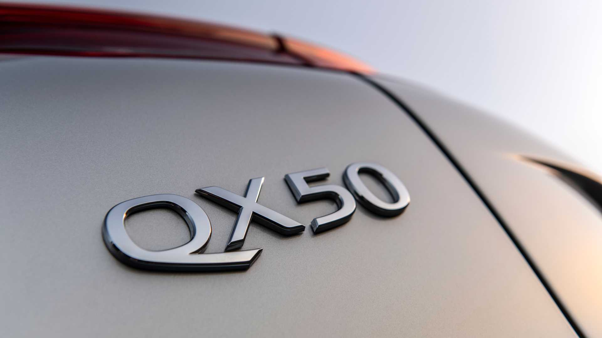 2021 Infiniti QX50 Badge