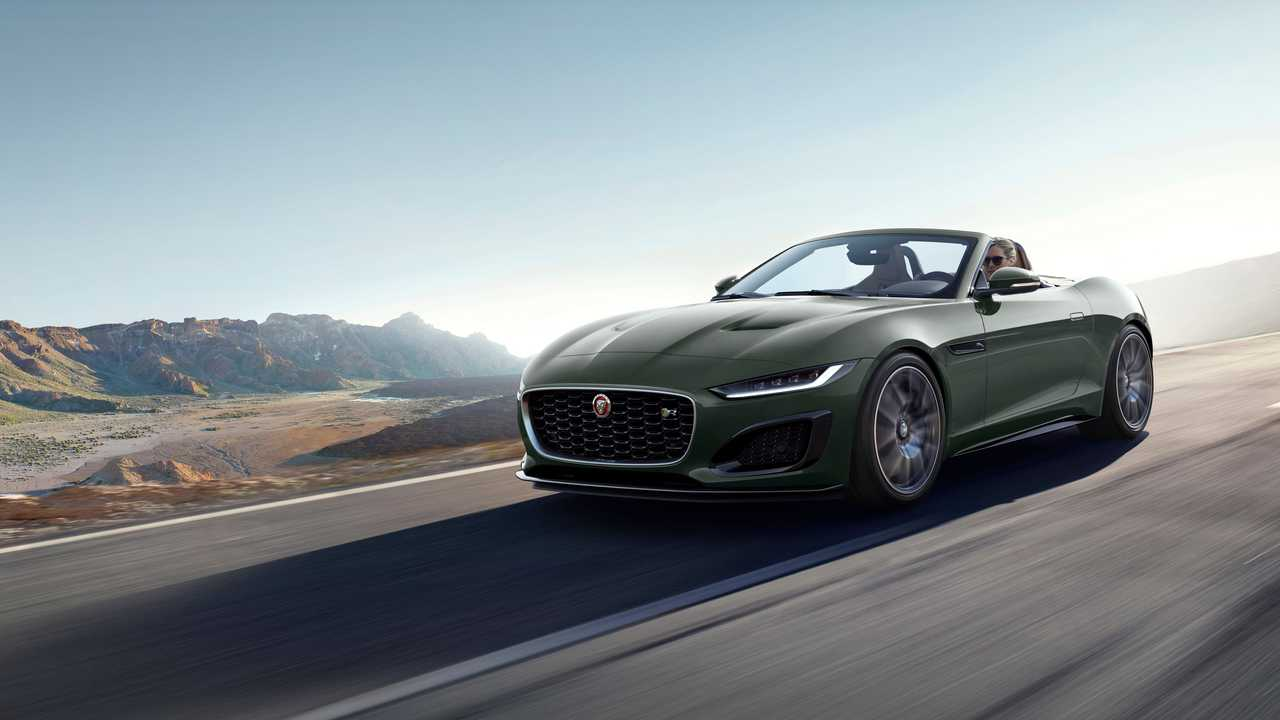 2021 Jaguar F-Type Héritage 60