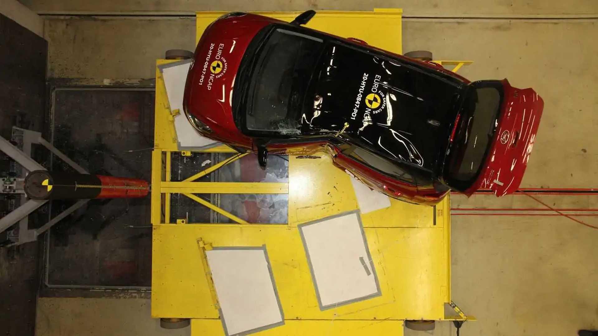 Nuova Hyundai i10, i crash test Euro NCAP