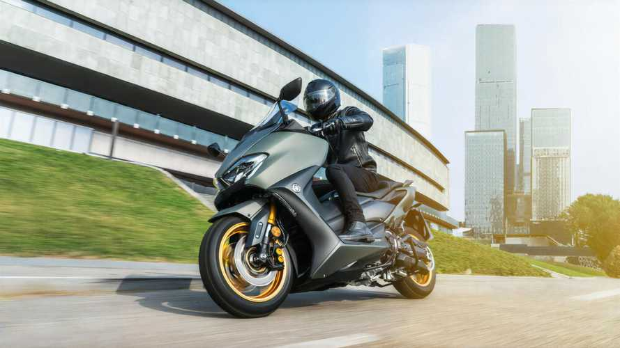 Skuter Yamaha TMAX dan XMAX 2021 Penuhi Standar Euro 5