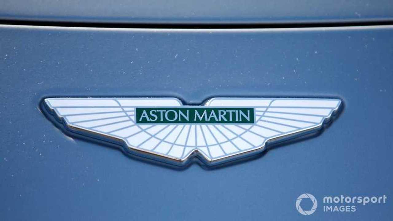 Aston Martin logo emblem badge