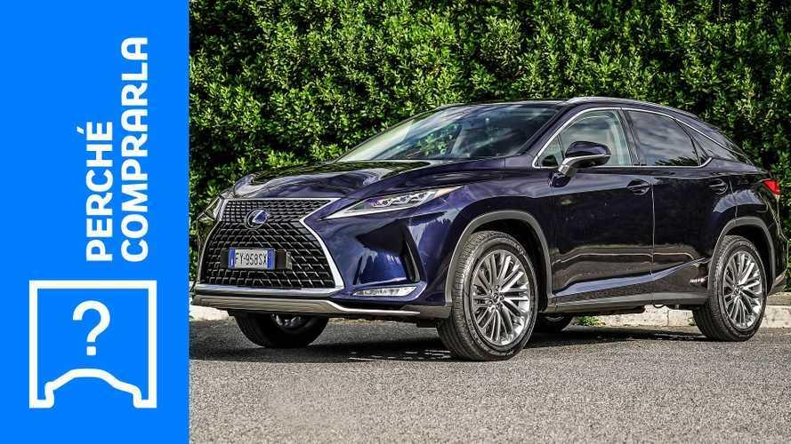 Lexus RX, perché comprarla e perché no