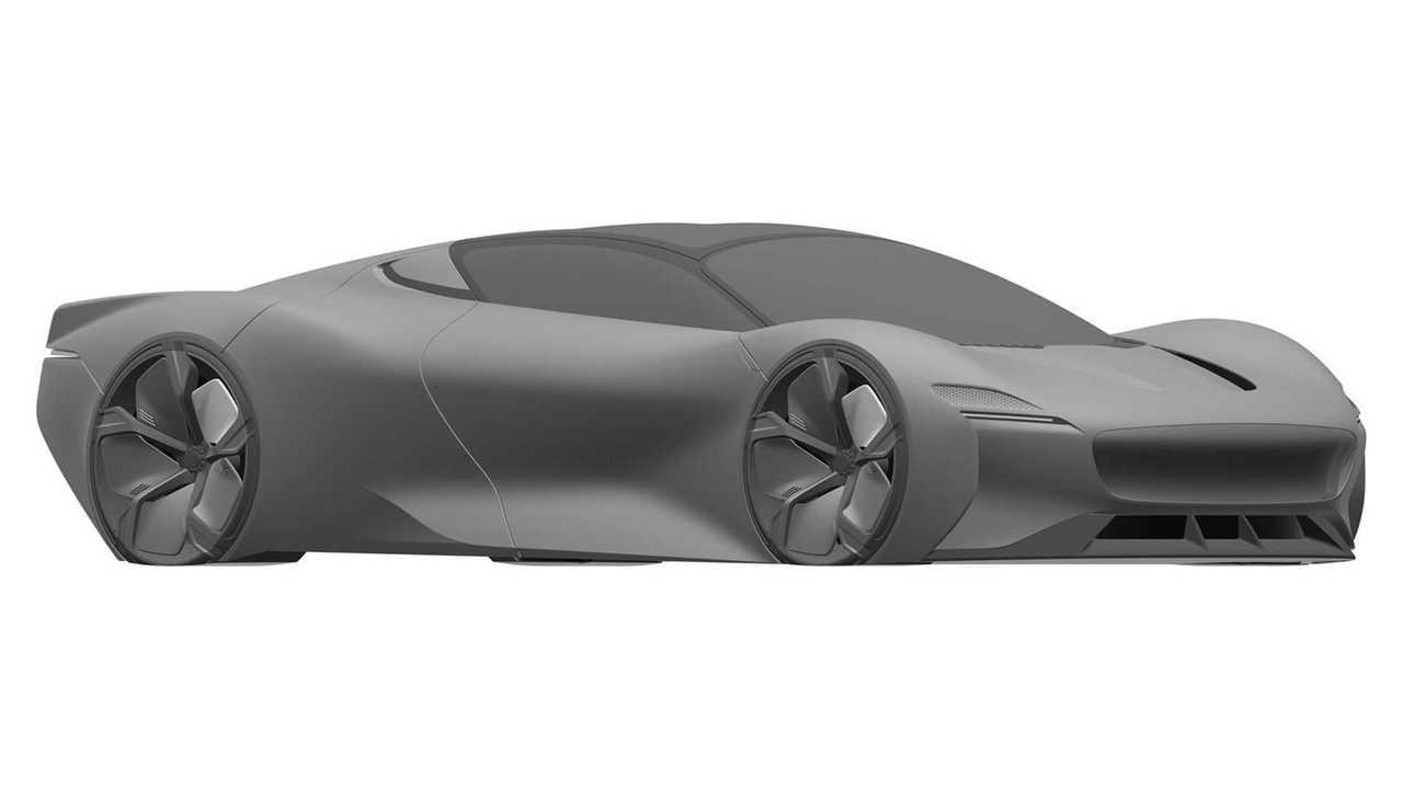 Jaguar Supercar Patent Submissions Front Quarter