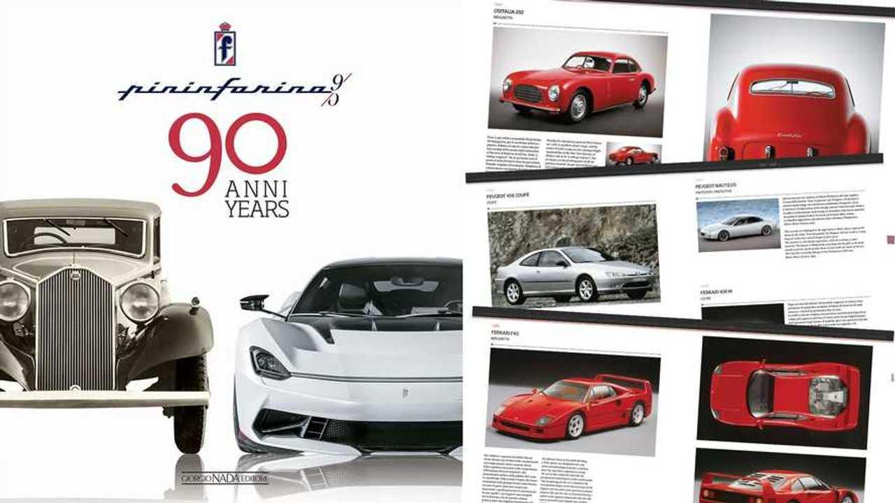 Pininfarina 90 anni/90 years, il libro ufficiale