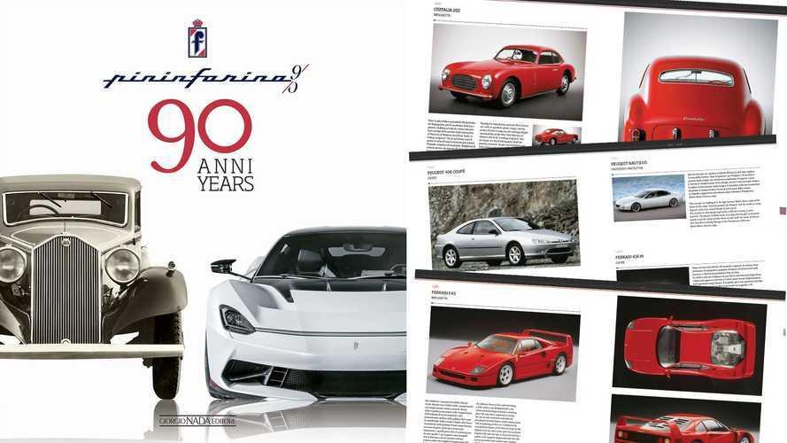 Pininfarina 90 anni, 632 auto favolose nel libro dell'anniversario