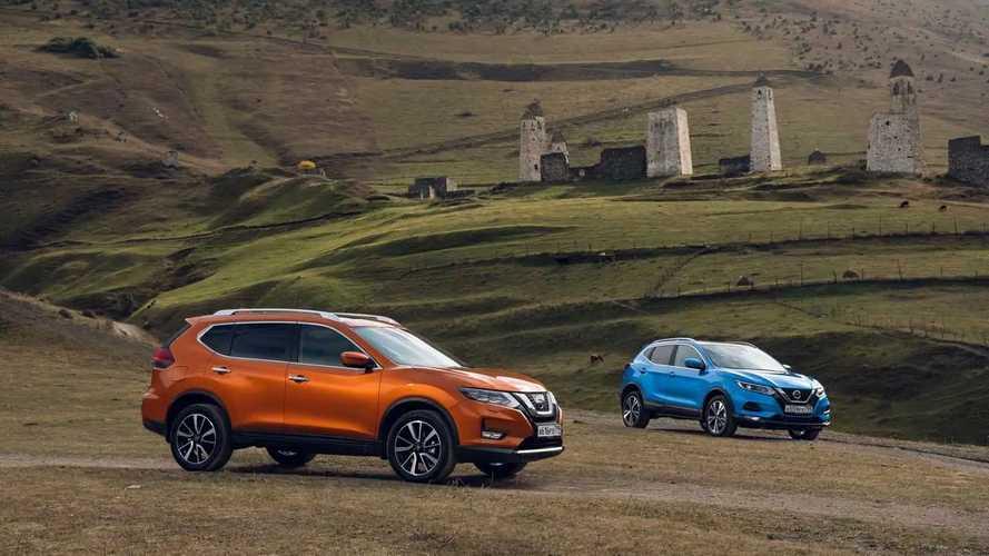 По Северному Кавказу на кроссоверах Nissan Qashqai и X-Trail