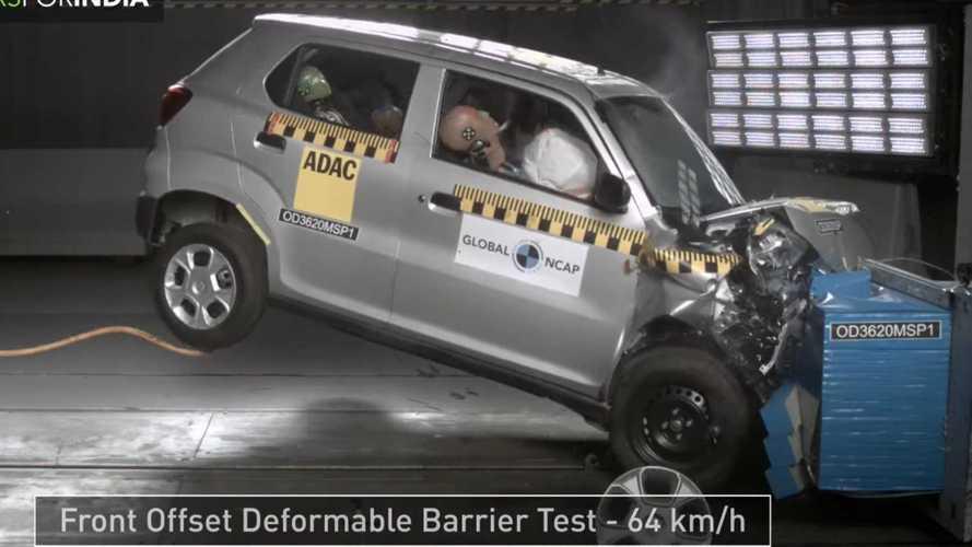 Maruti Suzuki S-Presso Global NCAP Crash Test Looks Scary, Gets 0 Stars
