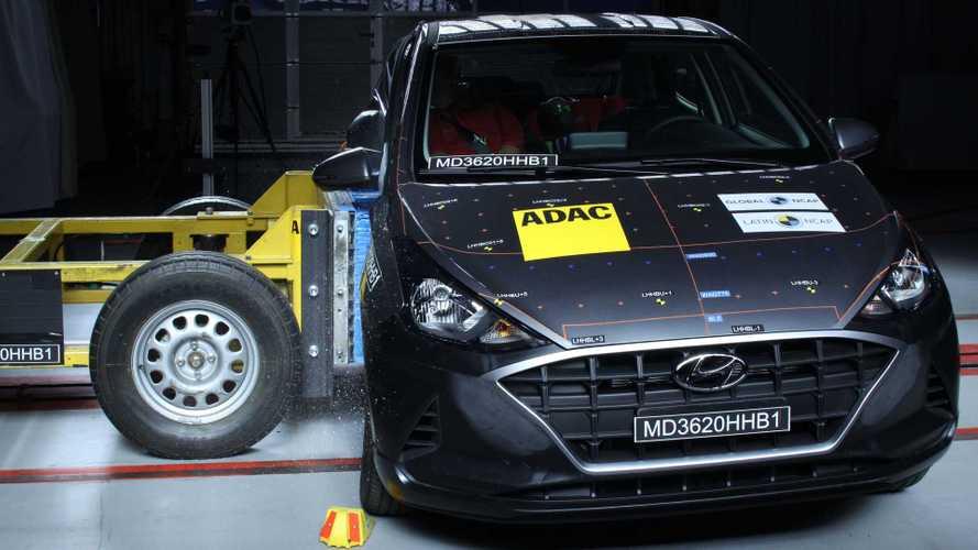 Hyundai HB20 tem nota rebaixada para 1 estrela em teste de colisão