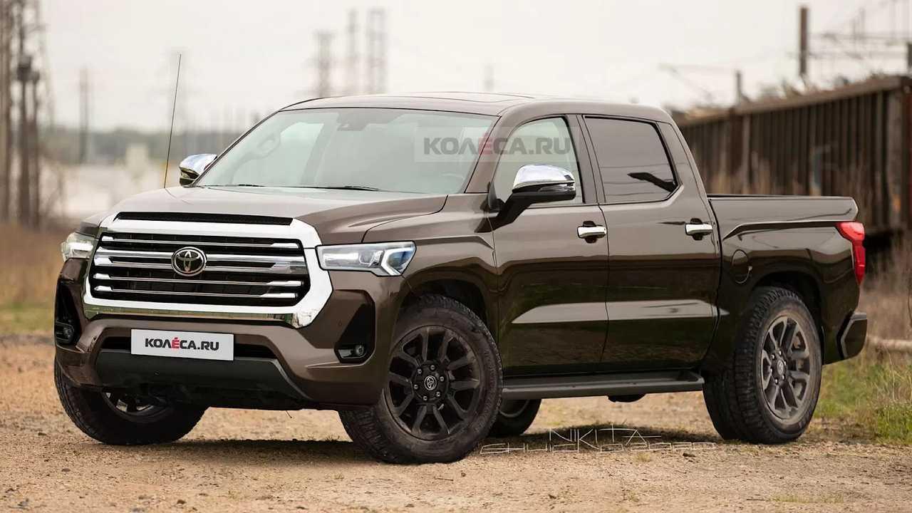 Next-Generation Toyota Tundra Renderings