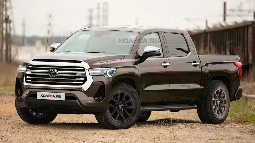 Next-Generation Toyota Tundra Renderings
