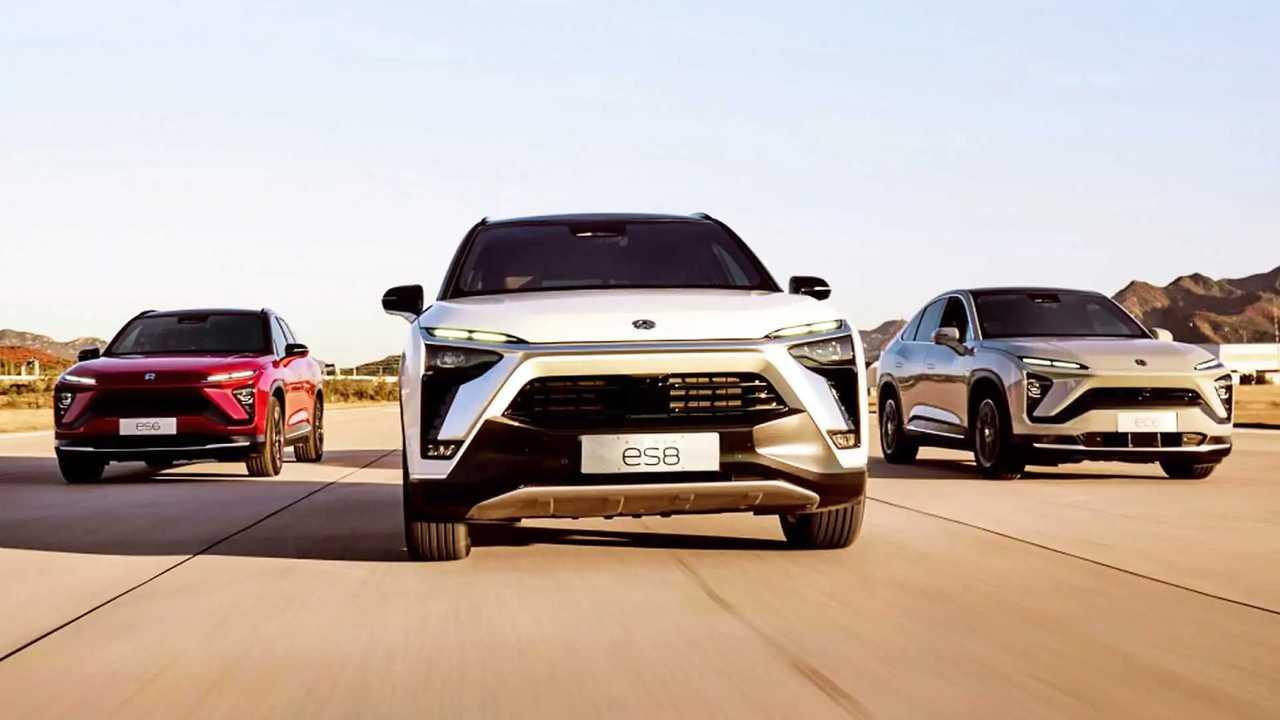 NIO, la gamma dei SUV elettrici cinesi