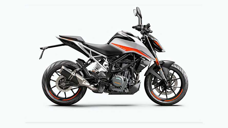 2021 KTM 125 Duke and 390 Duke