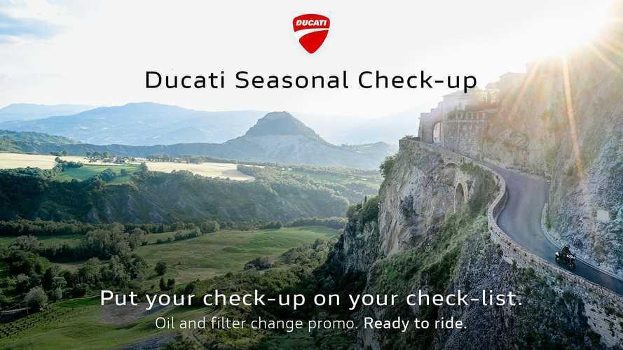 Ducati Seasonal Check Up, manutenzione vantaggiosa per i Ducatisti