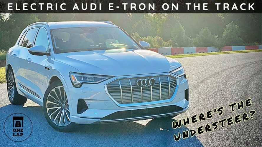 Audi e-tron 55 goes faster than you think in One Lap