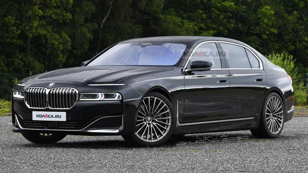 Bmw 7 Series Rendering Based On Spy Shots Is A Lot To Take In