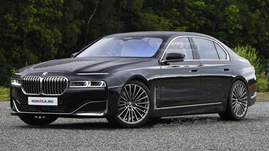 Novo BMW Série 7 2022: projeção antecipa próxima geração com design polêmico
