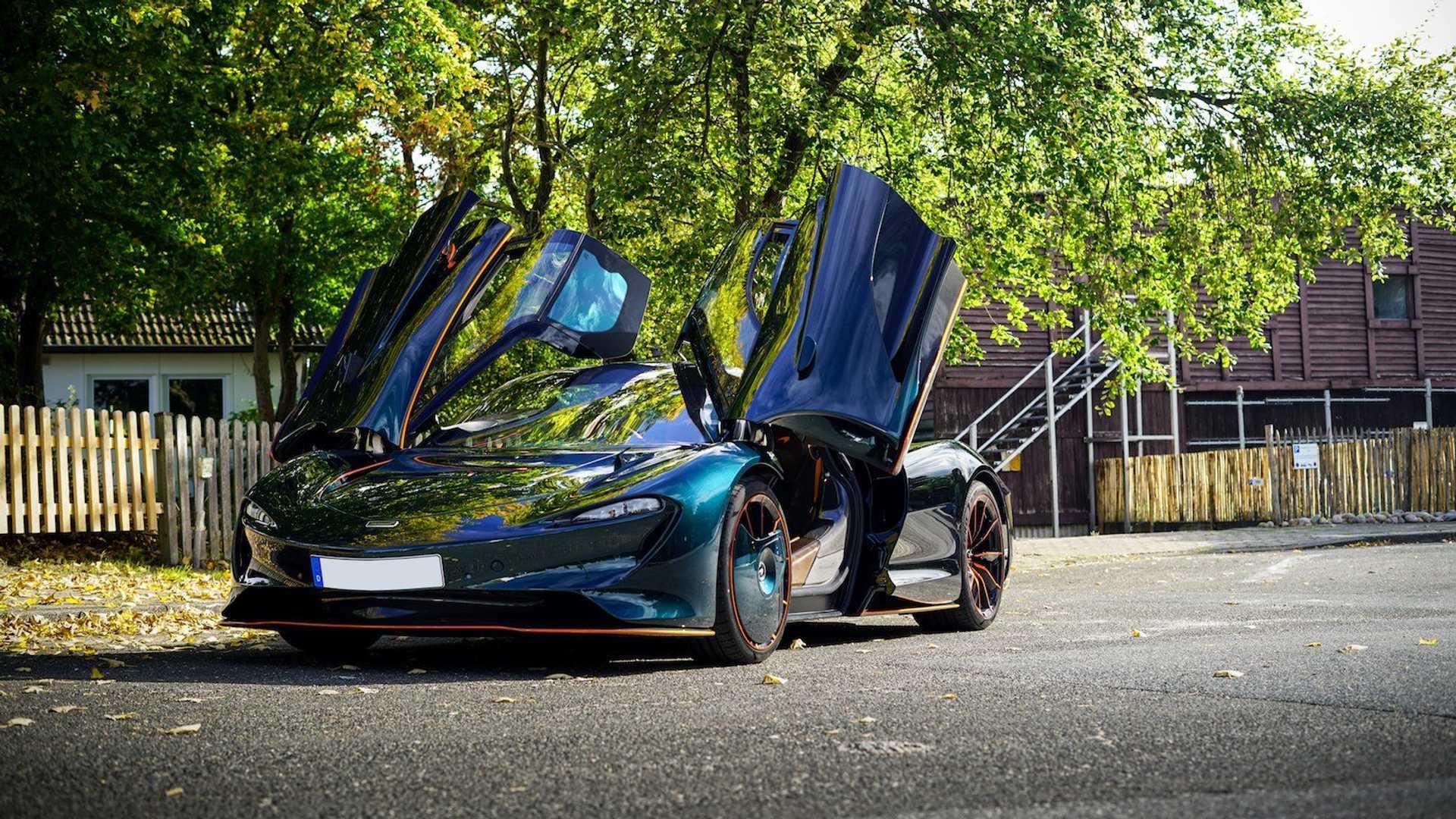2020 McLaren Speedtail for sale (exterior)