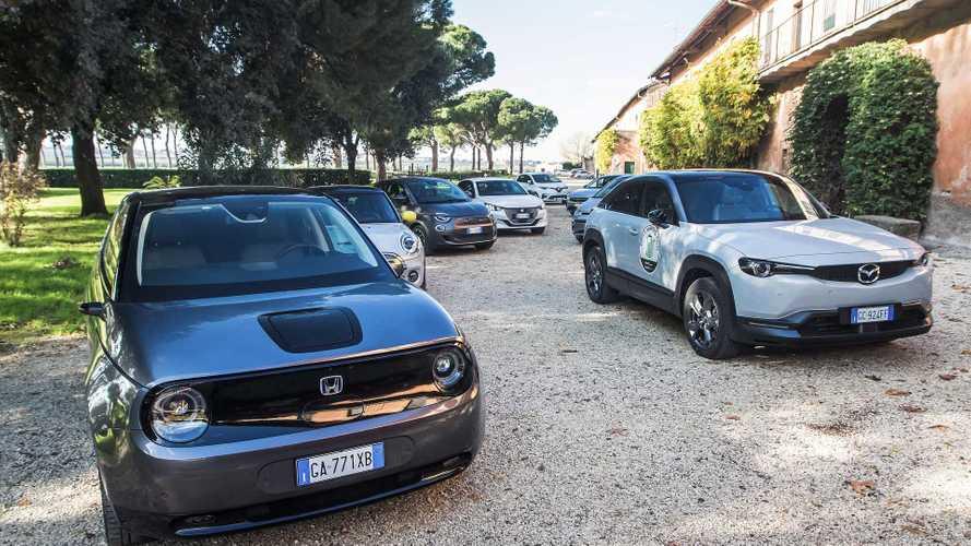 Neun Elektroautos für die Stadt im Reichweiten-Vergleichstest