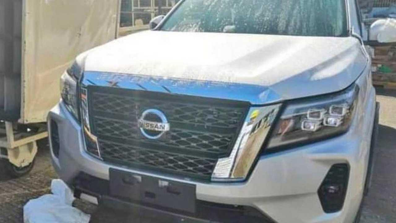 Sızdırılan Nissan Froniter Görselleri