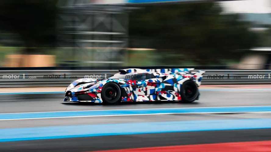 Nuevo Bugatti, fotos espía
