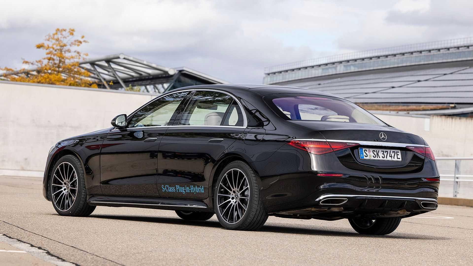Mercedes S-Klasse Plug-in-Hybrid (2021) im Test | Motor1 ...
