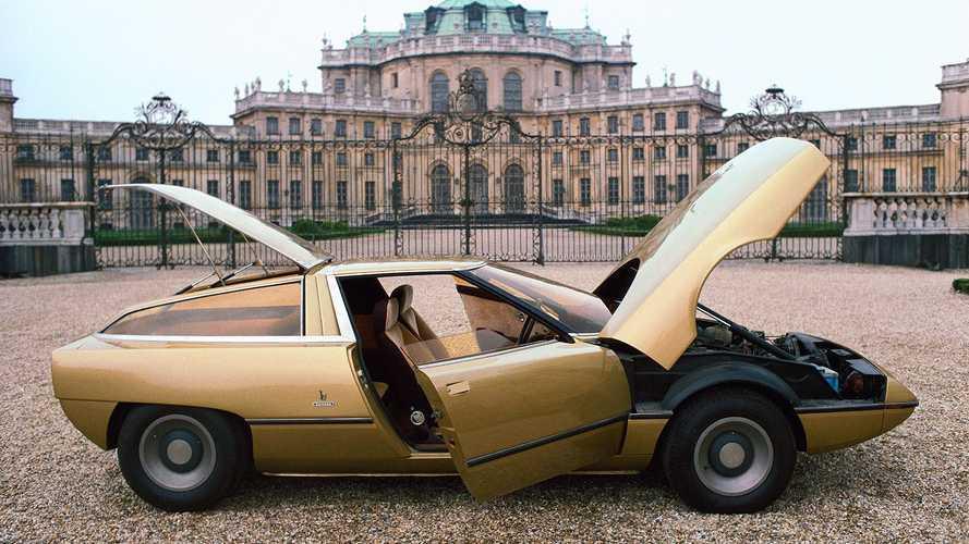 Citroën GS Camargue, Bertone la immaginò coupé