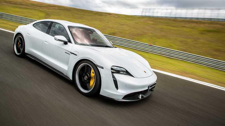 Sedãs premium mais vendidos em fevereiro: Porsche Taycan domina seu segmento