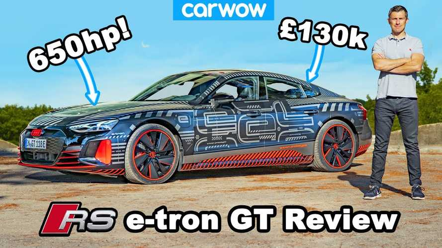Audi RS e-tron GT Prototype Driven, Impresses Reviewers: Video