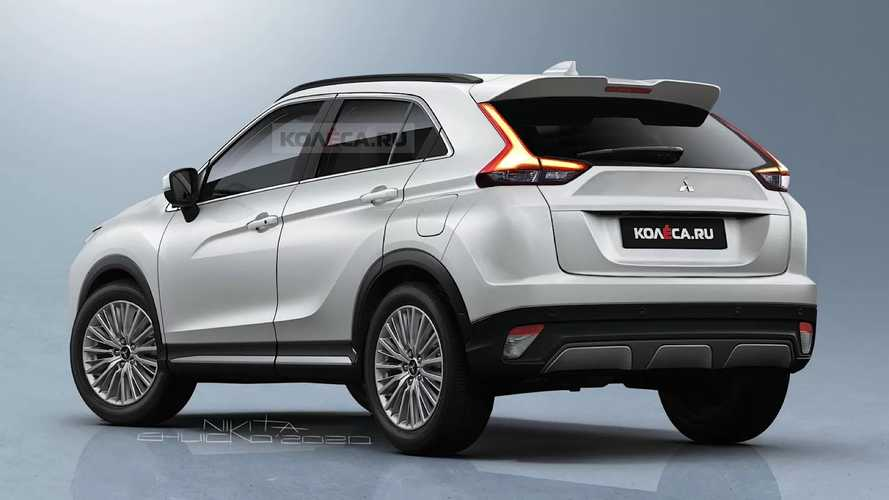 Mitsubishi Eclipse Cross Renderings