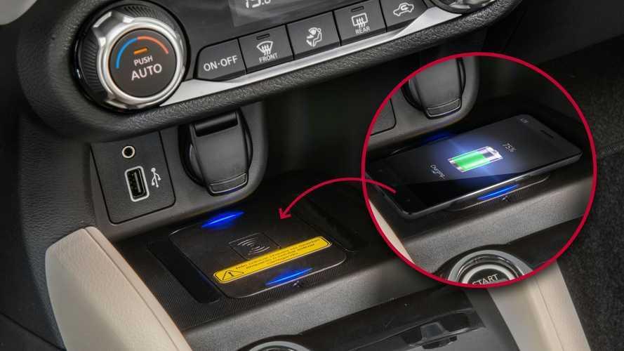 Novo Nissan Versa: lista de acessórios tem carregador wireless por R$ 599