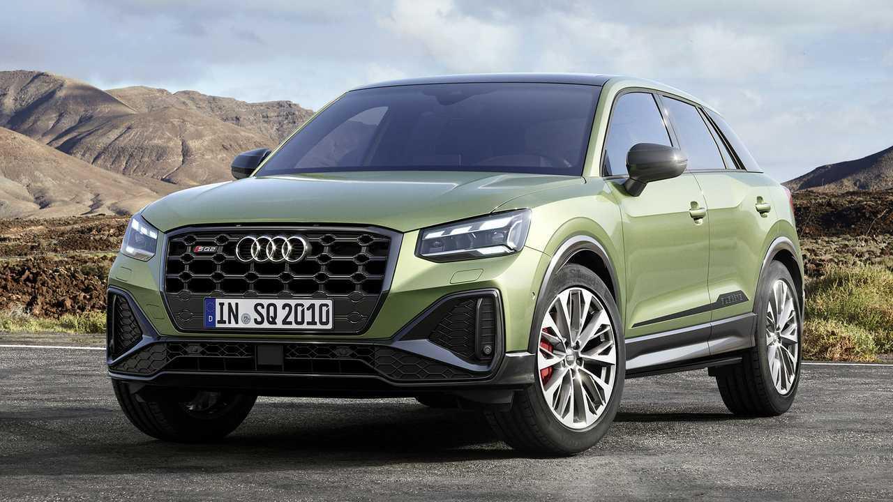 Audi SQ2 restyling (2021)