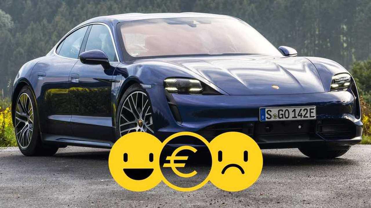Porsche Taycan Turbo promo dicembre 2020