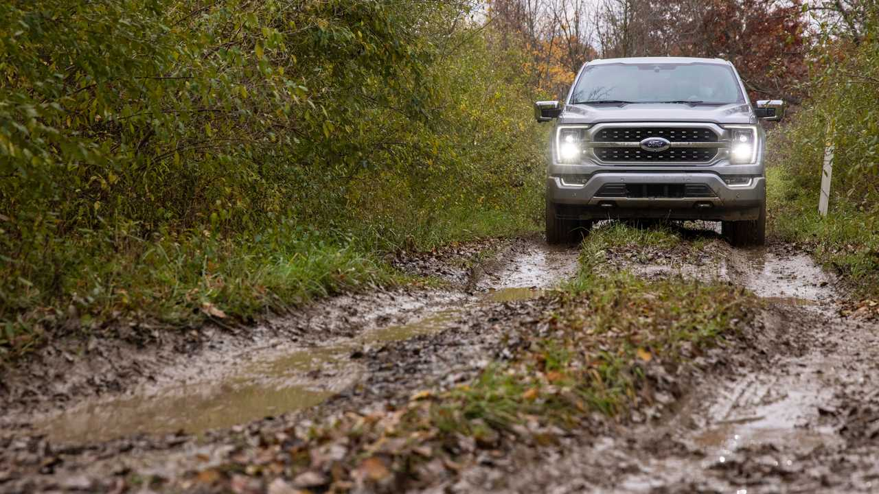 2021 Ford F-150 off-road offset