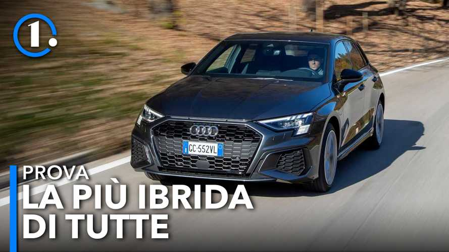 Nuova Audi A3 TFSI e, la prova della ibrida plug-in