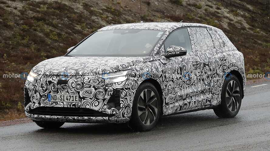 Audi Q4 E-Tron spied under development in Sweden