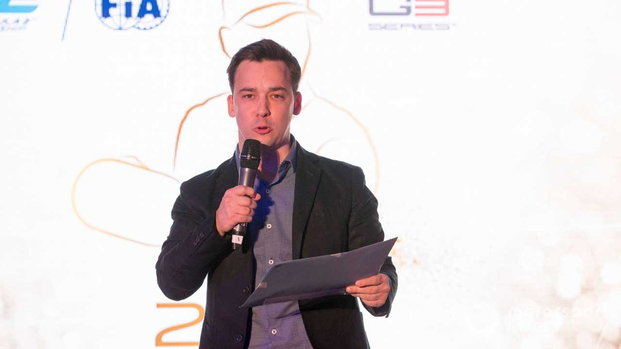 Alex Jacques hosts the Formula 2 and GP3 prize giving 2017