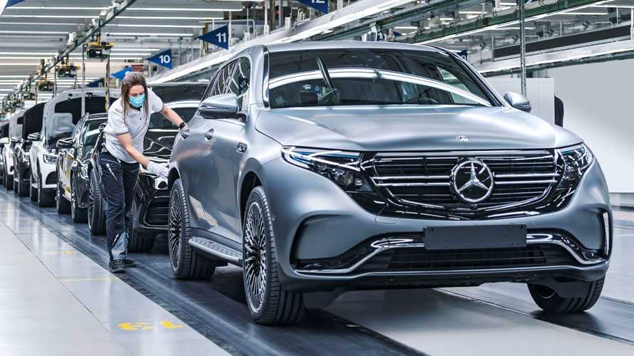 Mercedes-Benz EQC production at the Bremen plant, Germany