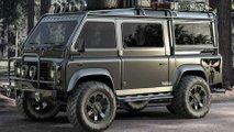 Land Rover Defender Van: Klassischer Offroader als Expeditions-Bus