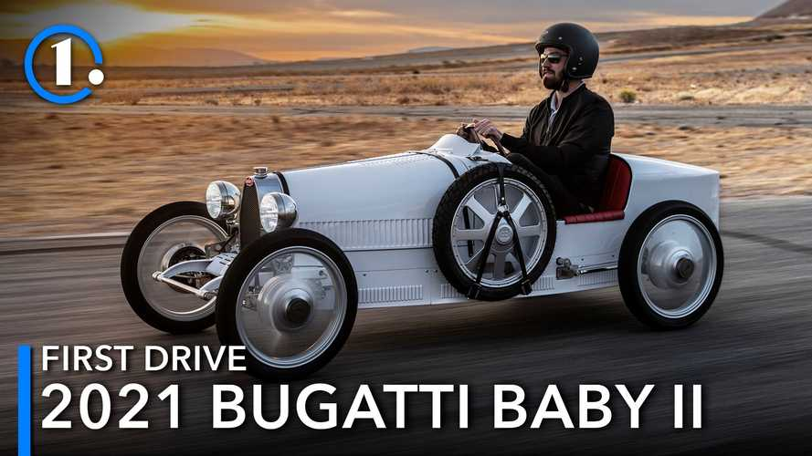 Bugatti Baby II First Drive Review: 42 MPH Has Never Felt So Fast
