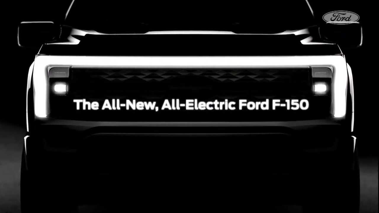 2023 Ford F-150 Electric Teaser