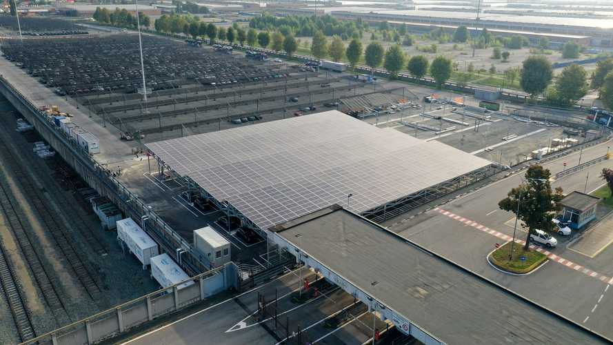 FCA Vehicle-to-Grid pilot project at Mirafiori plant, Italy