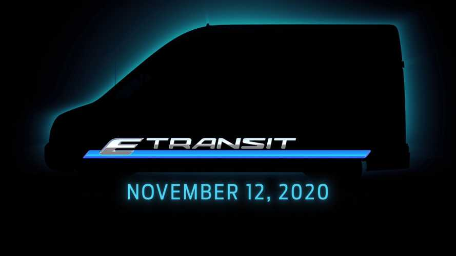 2022 Ford E-Transit teased ahead of November 12 reveal