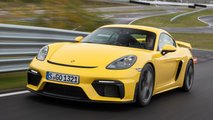 Porsche 718 Cayman GT4 (2021) im Test