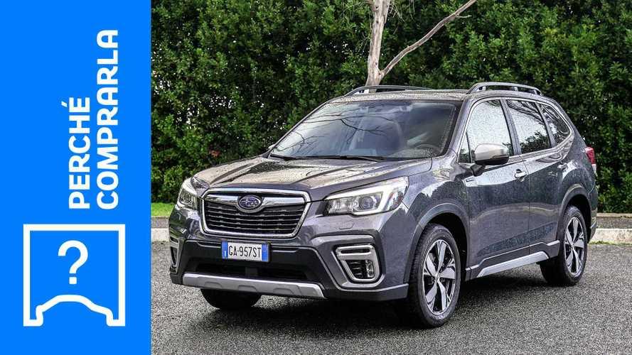 Subaru Forester, perché comprarla e perché no