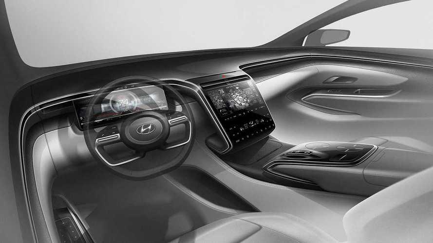 2021 Hyundai Tucson teasers