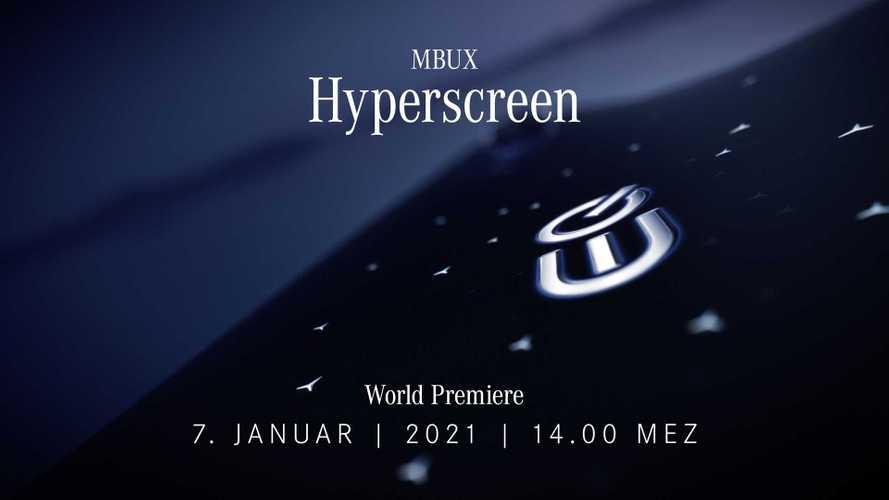 На электрическом флагмане Mercedes-Benz дебютирует «гиперэкран»