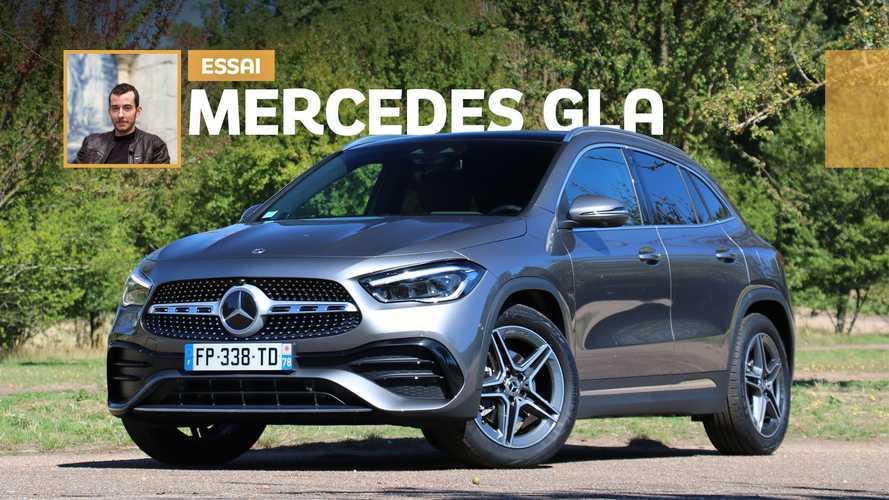 Essai Mercedes-Benz GLA (2020) - SUV enfin assumé